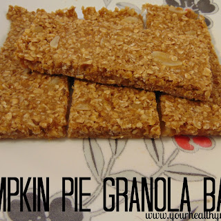 Pumpkin Pie Granola Bars.