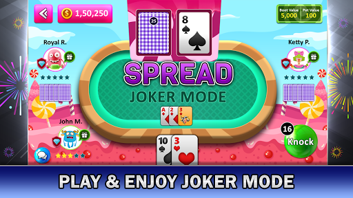Tonk Online : Multiplayer Card Game screenshots 2