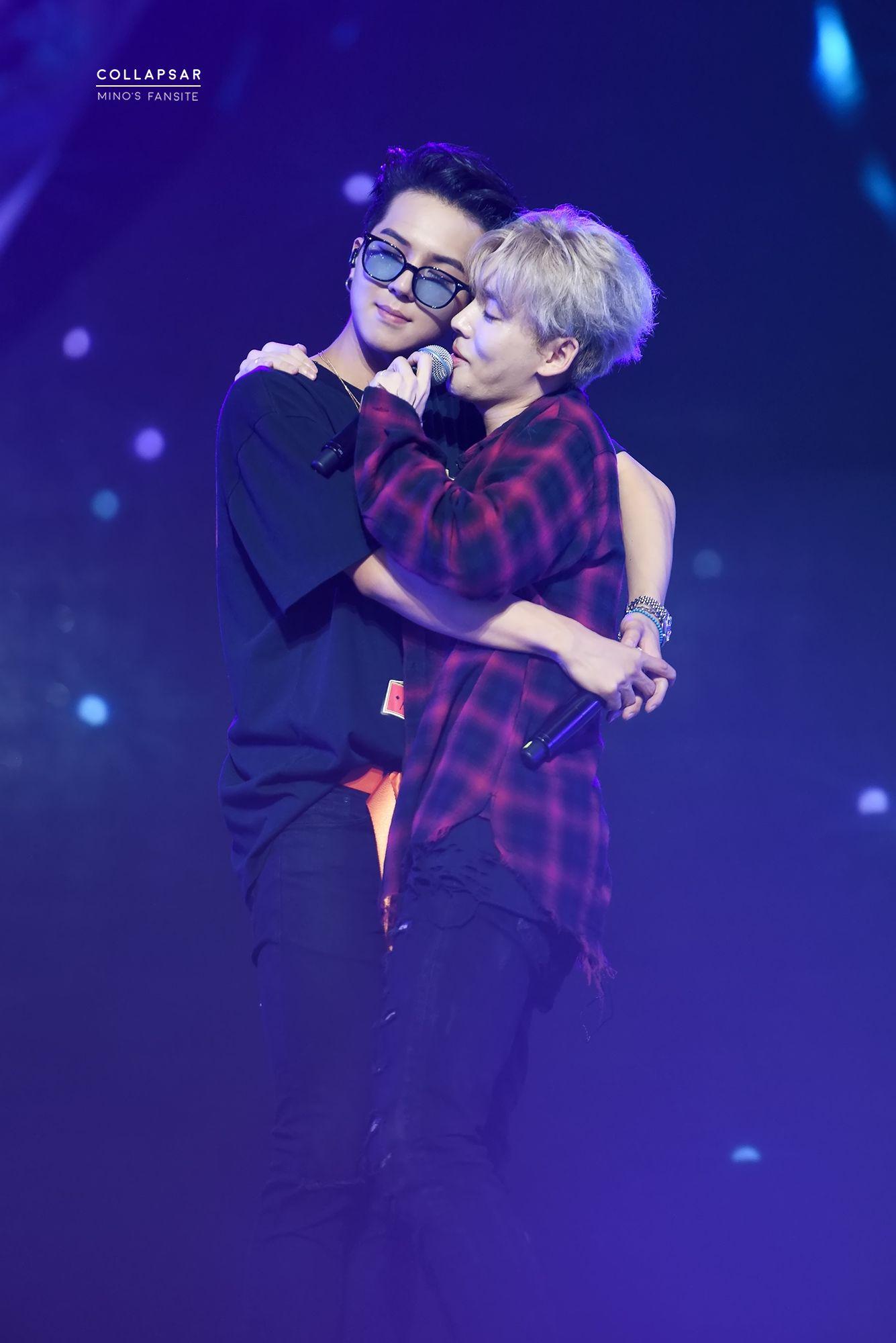 WINNER Jinwoo and Mino