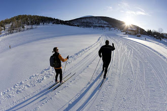 Photo: La Colle St Michel ski de fond (Crédits OT Allos)