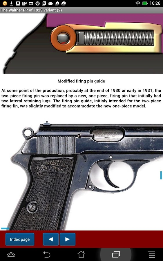 Walther PP & PPK explained- screenshot
