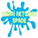 Social Network Space icon