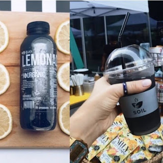 Homemade Black Lemonade