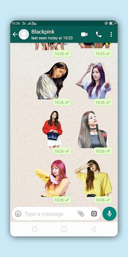 2020 Blackpink Stickers For Whatsapp Android App Download Latest
