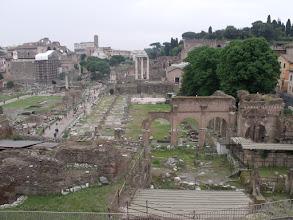 Photo: Forum ruins.