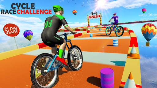 BMX Bicycle Racing Stunts- Mega Ramp Cycle Games 2.3 screenshots 6