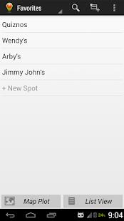 Spot Search Screenshot