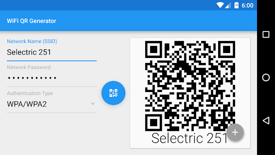 Wifi qr code generator apps on google play screenshot image stopboris Gallery