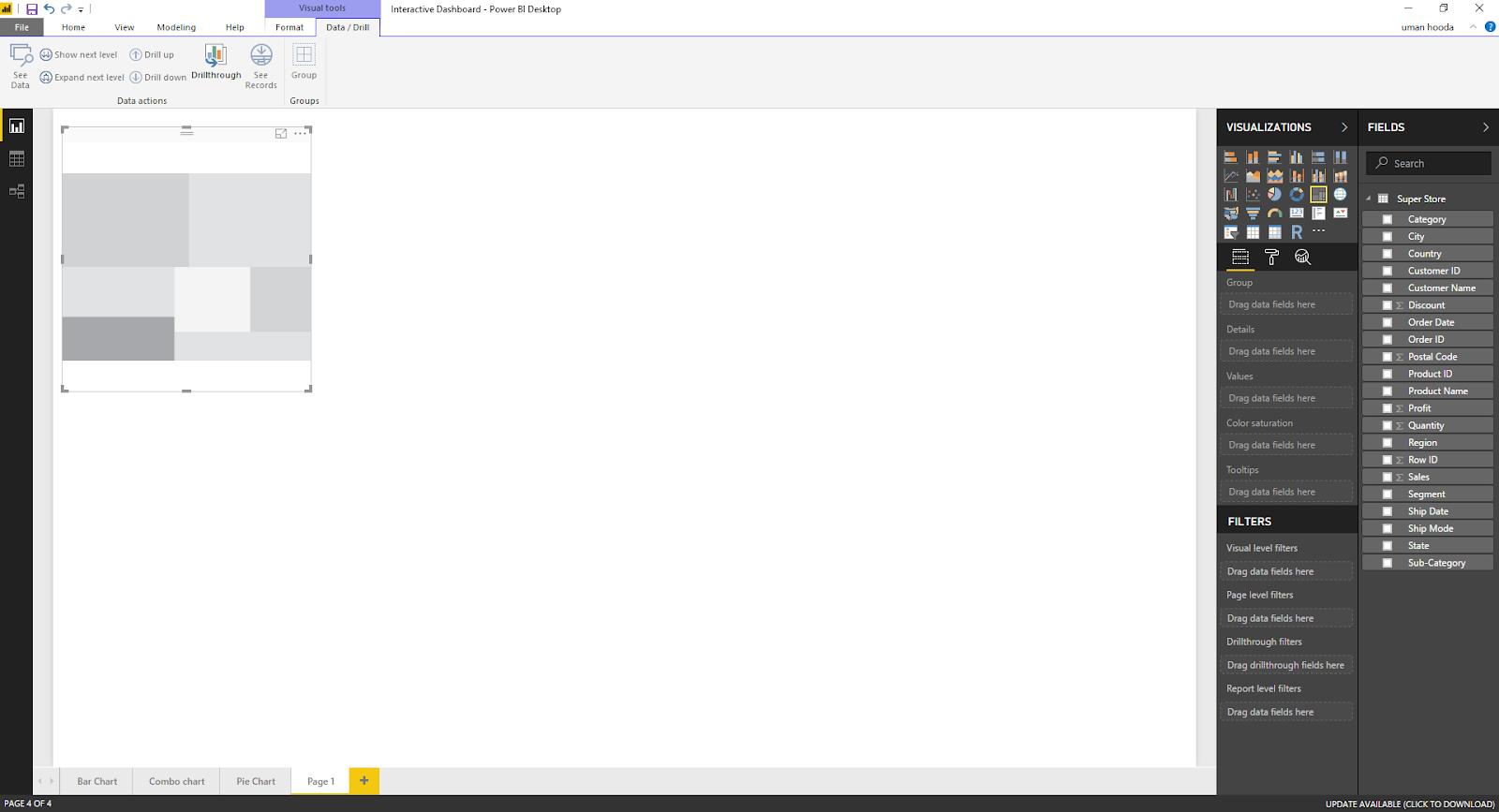 Interactive Dashboard In Microsoft Power BI 42