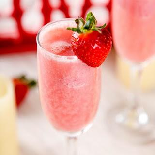 Strawberry Mimosa.