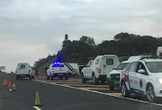 A security guard was killed when a Fidelity cash-in-transit vehicle came under fire on the N2 on the KwaZulu-Natal south coast on August 1 2019.