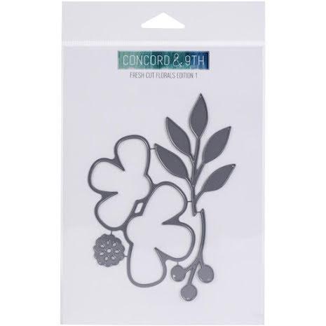 Concord & 9th Dies - Fresh Cut Florals Edition 1