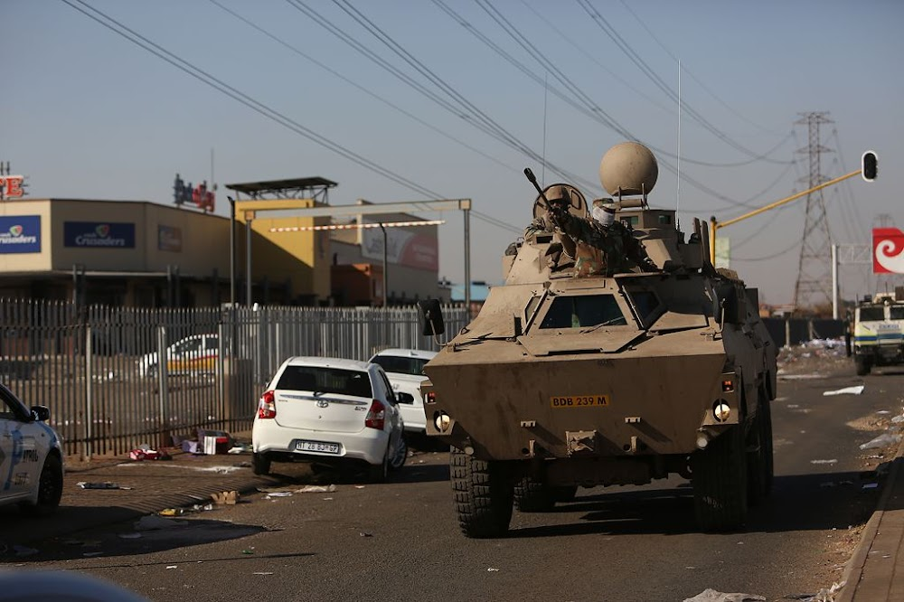 R615m — the cost to deploy soldiers to quell looting and unrest - SowetanLIVE