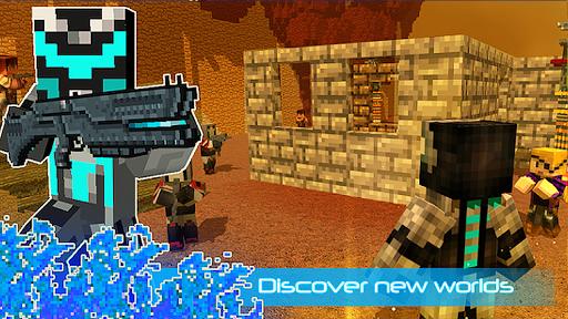 robot ninja battle royale screenshot 3