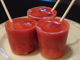 Strawberry Yogurt Pops Recipe