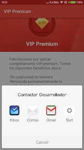 VIP Premium Screenshot