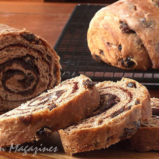 Cinnamon-Swirl Raisin Bread from Fine Cooking Magazine, February/March 2012