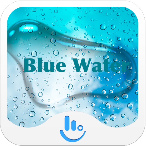 Blue Water Keyboard Theme