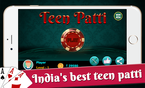 Teen Patti : 3 Patti Poker Game 2018 1.2 screenshots 1