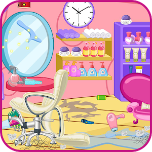 Clean up hair salon for PC and MAC