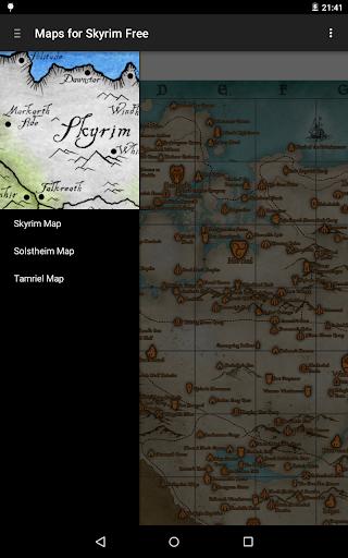 Maps for Skyrim Free