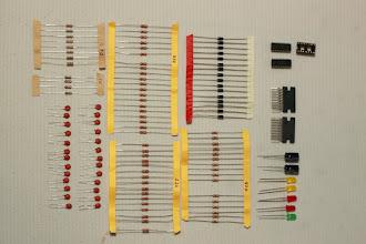 Photo: Componentes eletrônicos