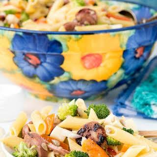 Broccoli Sausage Pasta Salad.