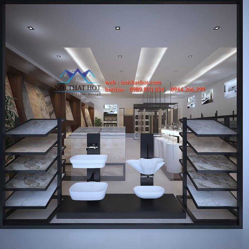 thiết kế cửa hàng thiết bị vệ sinh Phúc An 6