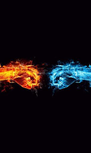 水與火的壁紙