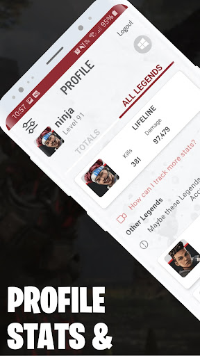 Stats for APEX Legends - Weapons, Map, Stickers screenshots 1