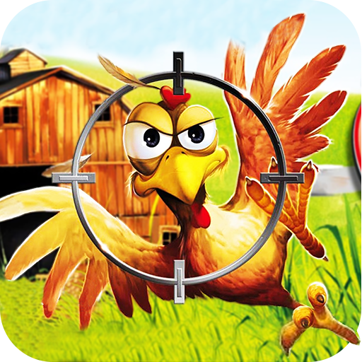 Crazy Chicken Shooting - Angry Chicken Knock Down