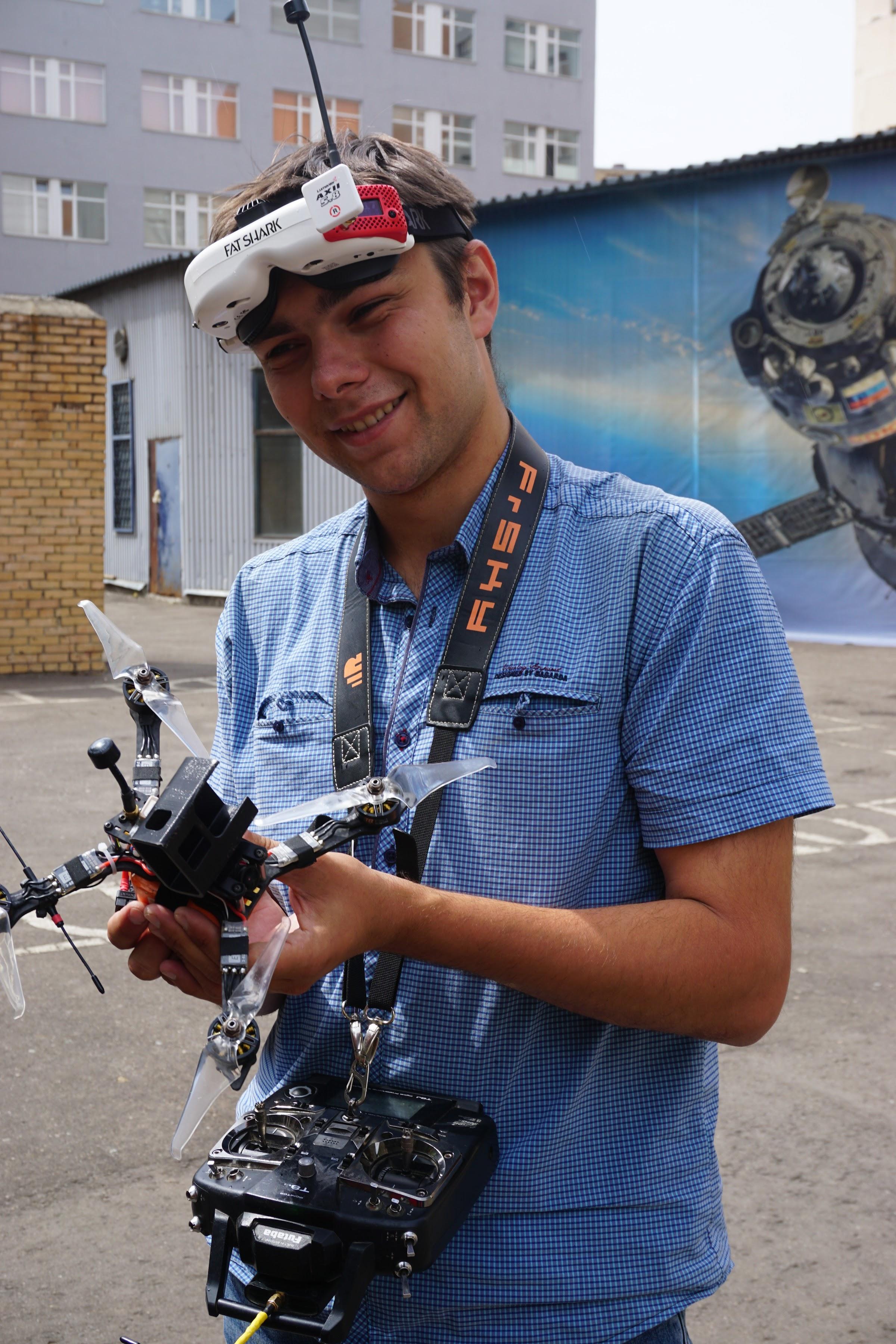 Школа дронов Территория взлёта в МАИ