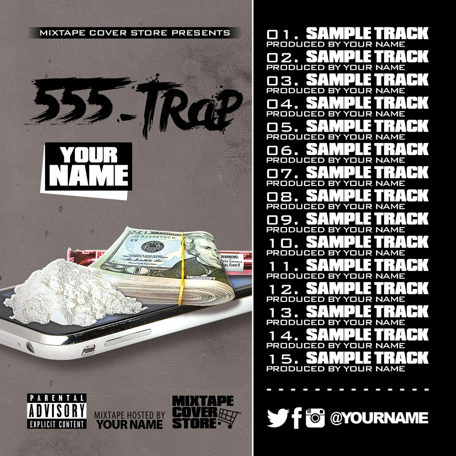 Mixtape Cover Tracklist