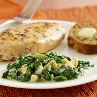 Creamed Spinach and Artichokes