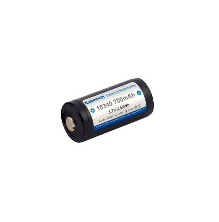 Keeppower Batteri 16340 3,7v 700mAh