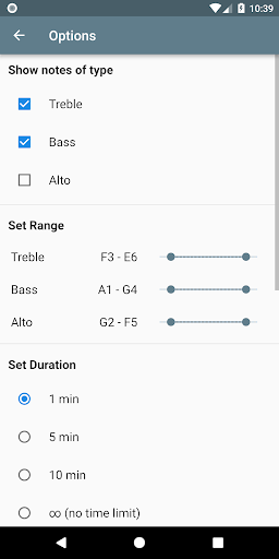 Music Tutor (Sight Reading) 2.1.1 screenshots 7
