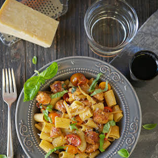 Fennel, Sausage and Tomato Pasta with Rosé.