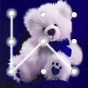 Teddy Bear Pattern Lock Screen icon