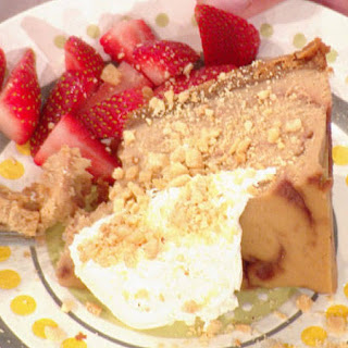 Slow Cooker PBJ Cheesecake