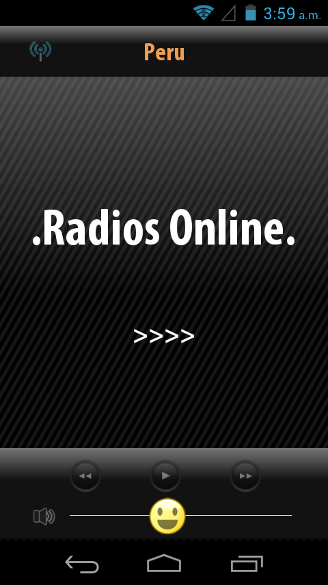 Radios de Peru- screenshot