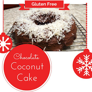 Gluten Free Chocolate Coconut Cake