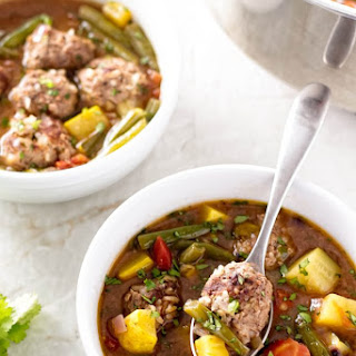 How to Make Authentic Albondigas Soup.