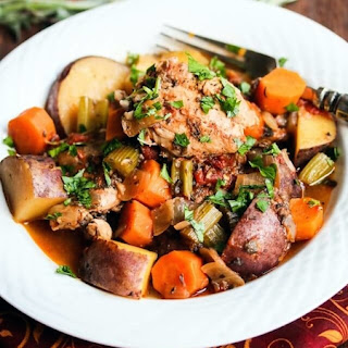 Slow Cooker Fall Chicken Vegetable Stew