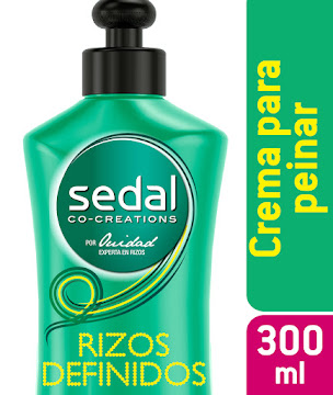 Crema Para Peinar Sedal Rizos Obedientes X300ml