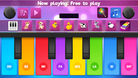 Colorful Instrument Simulator –Piano, Drum, Guitar APK screenshot thumbnail 1