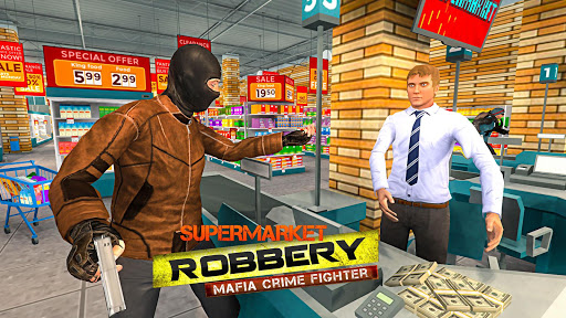 Supermarket Robbery - Mafia Crime Fighter 1.1.2 {cheat|hack|gameplay|apk mod|resources generator} 1