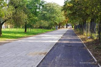 Photo: Cisza i spokój. To będzie przyjazna droga dla rowerów