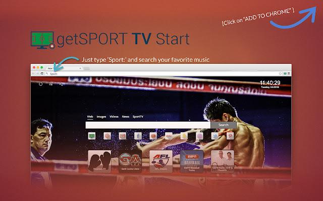 getSportTV Start chrome extension