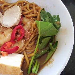 Claypot Prawn Noodle