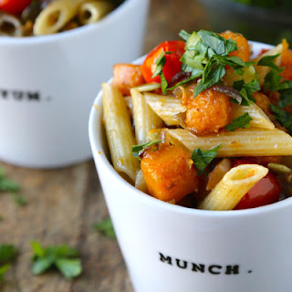 Butternut Squash and Tomato Penne
